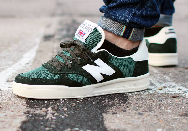 New Balance CT300 'Forrest Green' aux pieds (1)