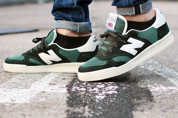 New Balance CT300 'Forrest Green' aux pieds (2)