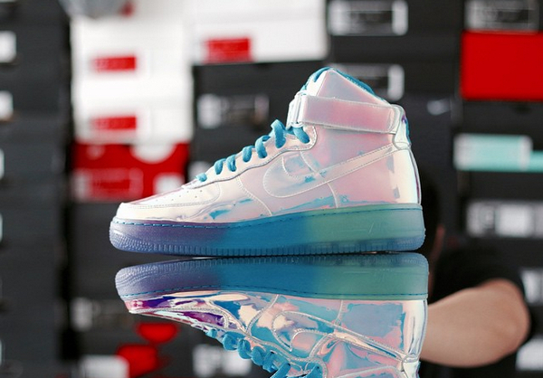 Nike Air Force 1 High ID iridescent