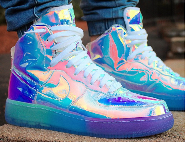Nike Air Force 1 ID Iridescent