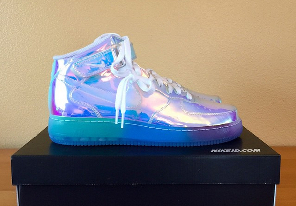 Nike Air Force 1 Mid ID Iridescent (1)