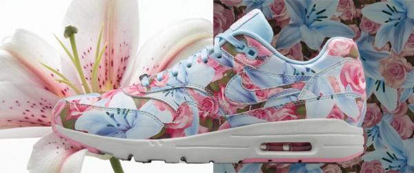 Nike Air Max 1 Ultra City Floral Paris (fleurs lys & roses) (1)