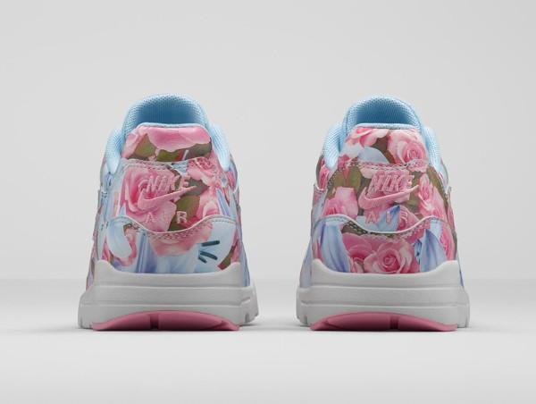 Nike Air Max 1 Ultra City Floral Paris (fleurs lys & roses) (6)