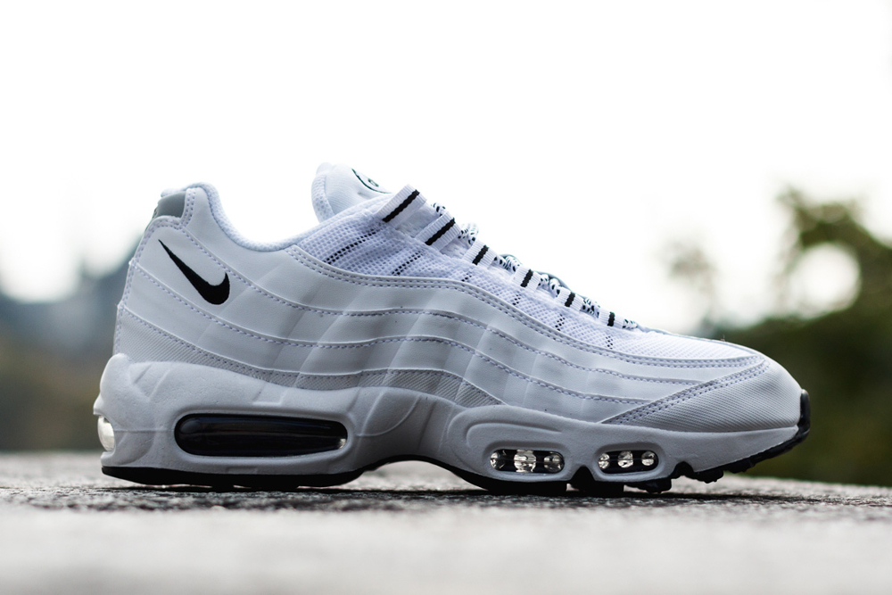 check out various design clearance prices Où trouver la Nike Air Max 95 Triple White (blanche) ?