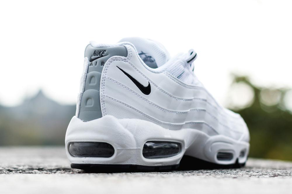Nike Air Max 95 Black & White (noir et blanc) (3)