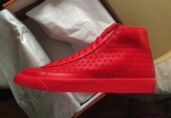 Nike Blazer Mid Metric 'Red'