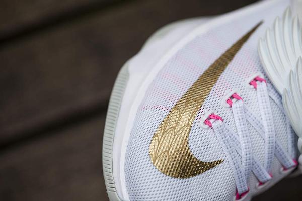 Nike KD 7 'Aunt Pearl' (White Metallic Gold Pink) (3)