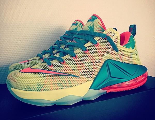 Nike Lebron 12 Low 'LeBronold Palmer' (2-1)