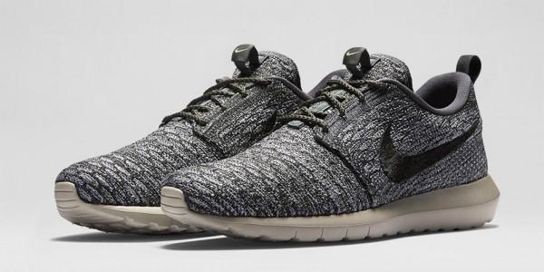 Nike Roshe Run Flyknit Wolf Grey & River Rock