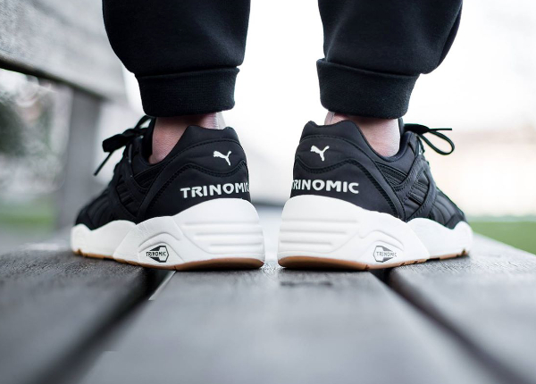 puma trinomic noir nylon