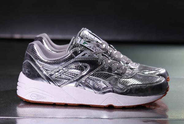 Puma R698 x Alife 'Metallic Silver' (argentée) (11)