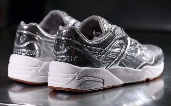 Puma R698 x Alife 'Metallic Silver' (argentée) (8)