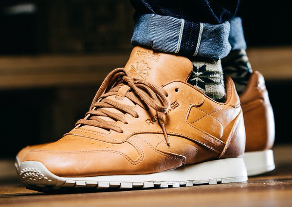 Reebok Classic Leather Lux 'Horween' (tan) (7)