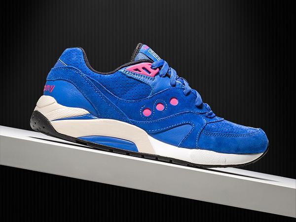 Saucony G9 Master Control 'Neon Lights' (Blue) (1)
