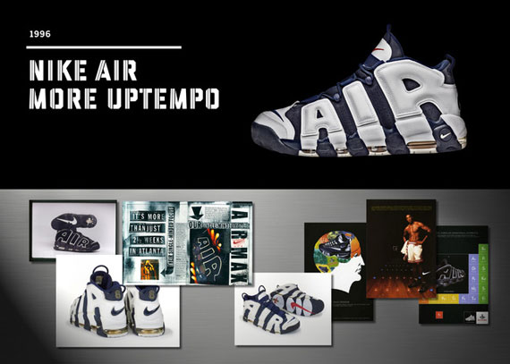 Wilson Smith designer Nike Air More Uptempo