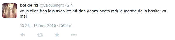 La Adidas Yeezy 750 Boost ? Non, Kanye West n'est pas Tupac