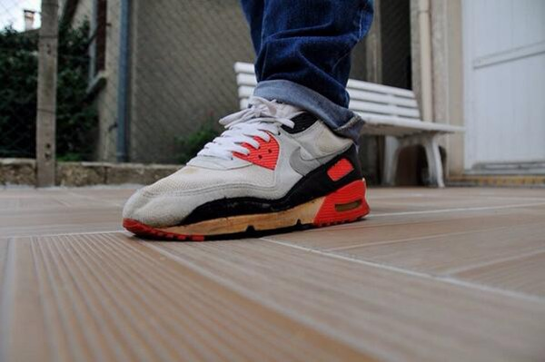 quality design eefd8 32f15 1990-Nike Air Max 90 OG Infrared - David Tokyo