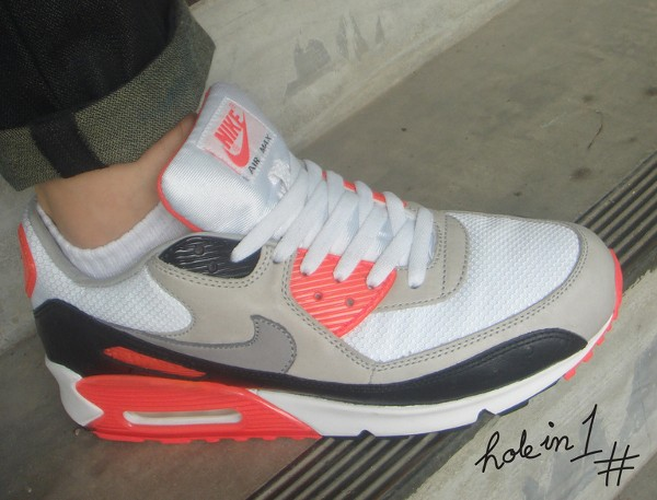 2008-Nike Air Max 90 Infrared Ostrich - Firstkicks