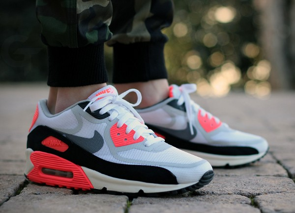 2013-Nike Air Max 90 Tape Infrared - GTfan712-1