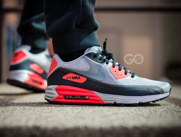 2013-Nike Air Max Lunar90 Infrared - Seango