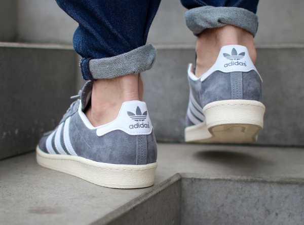 Adidas Campus 80's x Nigo 'Grey White' (1)