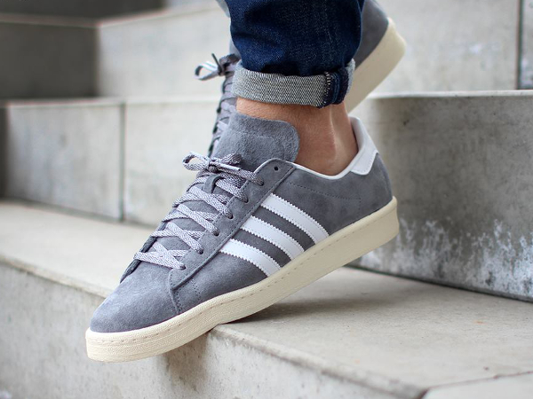 Adidas Campus 80's x Nigo 'Grey White' (2)