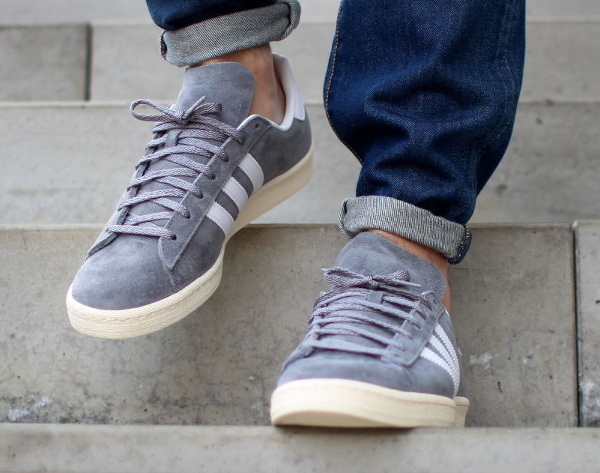 Adidas Campus 80's x Nigo 'Grey White' (3)