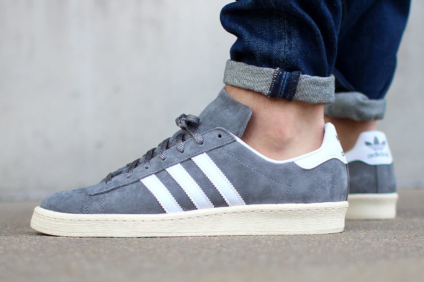 Adidas Campus 80's x Nigo 'Grey White' (4)