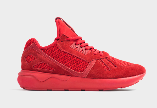 Adidas Originals Tubular Runner Mono Red (rouge) (2)