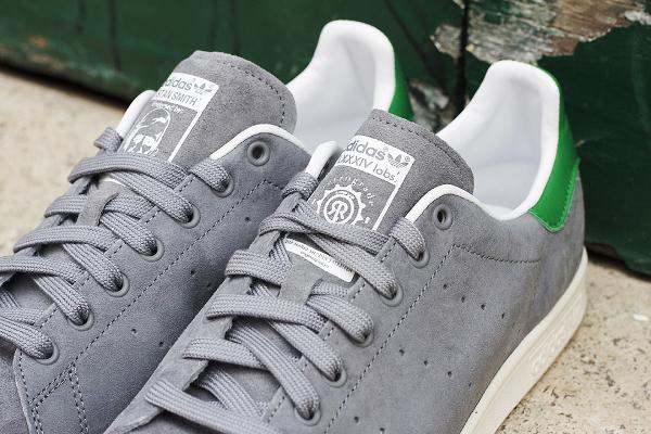Adidas Stan Smith Suede 84 Lab (Grey White) (2)