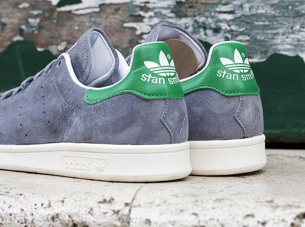 Adidas Stan Smith Suede 84 Lab (Grey White) (3)