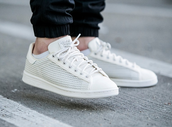 01550756224 Stan Smith Woven Chalk White argepeg.fr