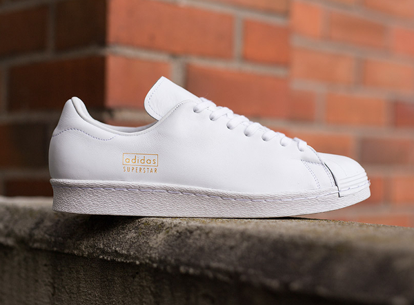 Adidas Superstar 80's Clean White White ...