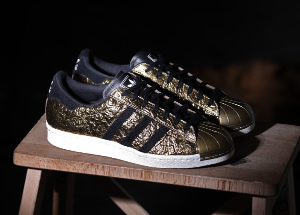 Adidas Superstar 80's Metal Gold