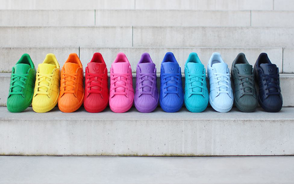 Adidas Superstar x Pharrell Williams Supercolors 'Equality'