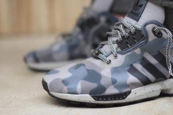 Adidas ZX Flux Decon 'Camo' (Grey/Onyx)