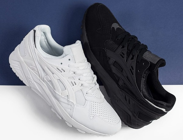 Asics Gel Kayano Trainer Black & White