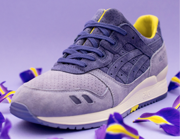 Asics Tiger Gel Lyte 3 x Size Iris (Purple Yellow) (3)