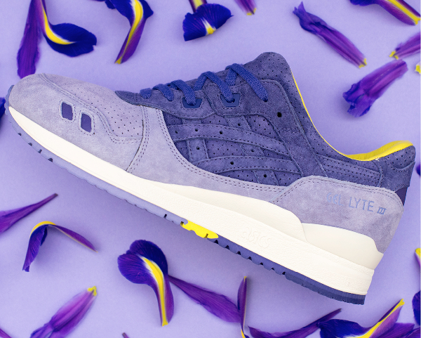 Asics Tiger Gel Lyte 3 x Size Iris (Purple Yellow) (7)