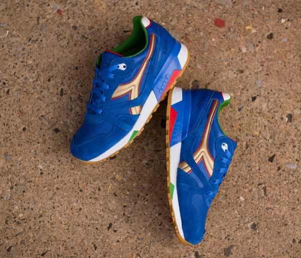 Diadora N9000 Azzurri (Packer Shoes) (1)
