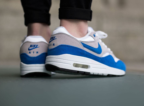 Nike Air Max 1 OG GS (femme) White Neutral Grey Blue Black (1)