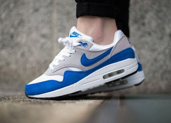 Nike Air Max 1 OG GS (femme) White Neutral Grey Blue Black (2)