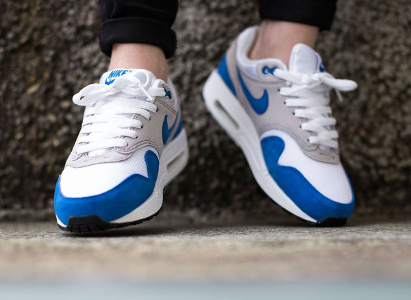 Nike Air Max 1 OG GS (femme) White Neutral Grey Blue Black (3)