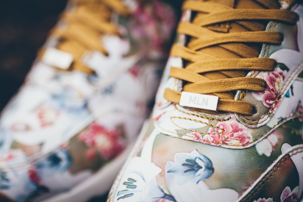 Nike Air Max 1 Ultra City Floral Milan (fleurs) aux pieds (2)