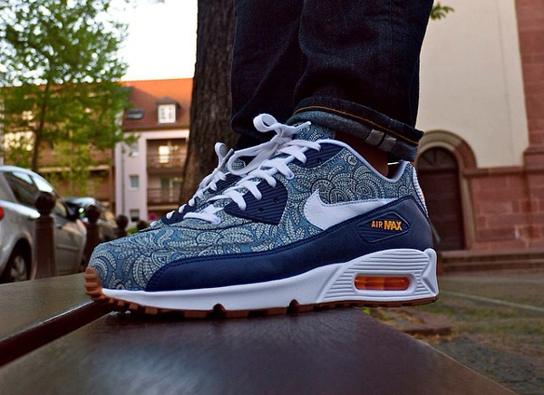 Nike Air Max 90 Dark Blue Crown - Makephoto
