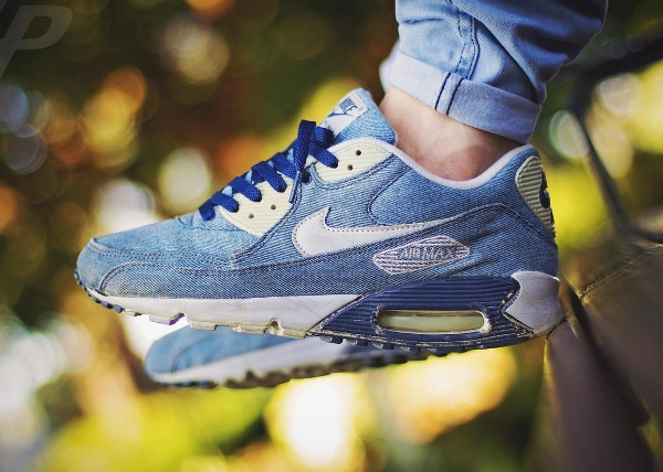 Nike Air Max 90 Denim Courir -  Liam Parsons