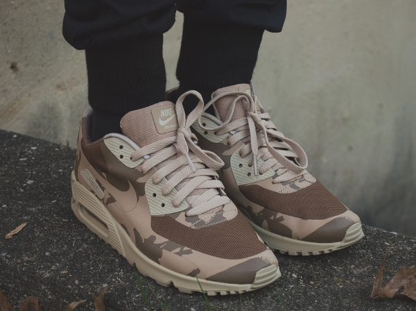 Nike Air Max 90 Hyperfuse Camo UK -  Elisha Johnthunder