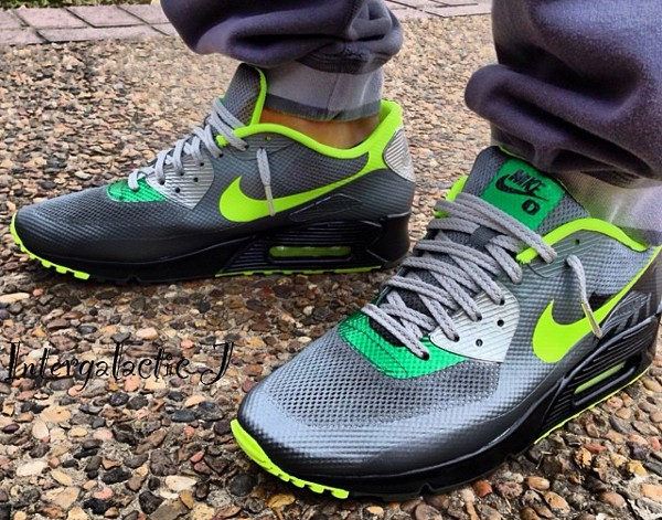 Nike Air Max 90 Hyperfuse Oregon Ducks - Intergalacticj-1