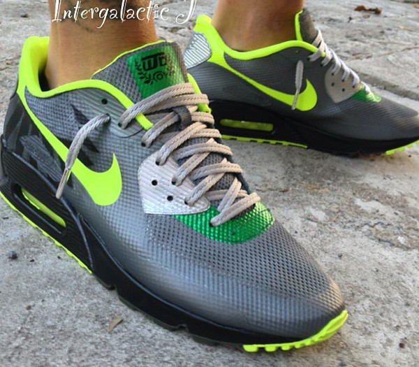 Nike Air Max 90 Hyperfuse Oregon Ducks - Intergalacticj