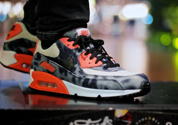 Nike Air Max 90 Infrared Denim - Blackbi1rd